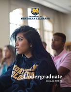 Undergradate Catalog cover